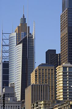 Australia, New South Wales, Sydney, financial district, close-up