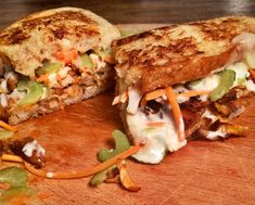 The 2015 Grilled Cheese RECIPE SHOWDOWN - Sriracha BBQ Chicken Grilled Cheese