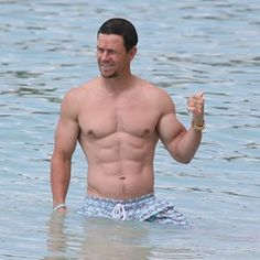 Mark Wahlberg soaks up the sun with wife Rhea Durham in Barbados