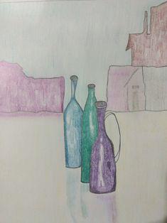 Aty💛💛💛30/12/17 #draw #misdibujos #dibujo #drawings #botellas