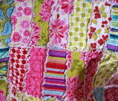 Rag QuiltSandi Henderson Farmer's Market Rag by onasmallscale, $80.00