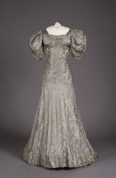 Evening dress, 1936 United States, Litchfield Historical Society