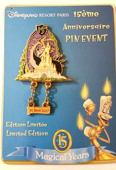 Disney Pin 53766 DLRP - 15 Ans Event Maleficent as Dragon LE 431/600