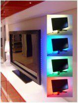 Светодиодная полоса для фоновой подсветки экрана TV, монитора с кабелем USB