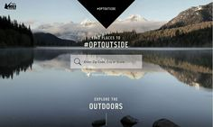 What you can learn for your brand story strategy from REI's #OptOutside campaign that disrupts traditional Black Friday shopping with outdoor adventures.