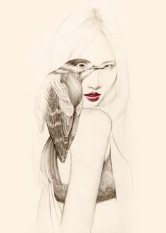 소녀, 그리고 새 : 네이버 블로그