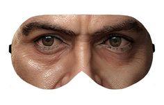 Tony Stark Iron Man Sleep Sleeping Eye Eyes Mask Night Masks Blindfold Travel Kit Kits Shade Shades cover Slumber Slumbers Eyewear Eyewears by venderstore on Etsy
