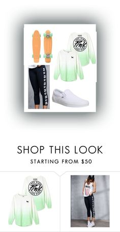 """☀️Let's Take A Ride☀️"" by kitkat308 on Polyvore featuring Victoria's Secret, Vans, women's clothing, women, female, woman, misses and juniors"