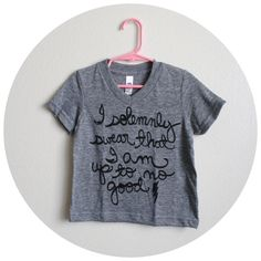 "Harry Potter Kids Shirt ""I solemnly swear…"""
