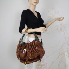 Louis Vuitton Limited Edition Epices Kalahari GM Masala Shoulder Bag #LouisVuitton #ShoulderBag