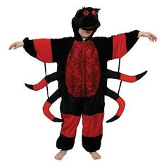 Boys girls #spider costume for #animals bugs #creatures fancy dress kids childs,  View more on the LINK: http://www.zeppy.io/product/gb/2/401053687318/