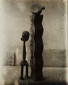 Constantin Brancusi, (Bois) Group Mobile (L'Enfant au monde), 1917, Phillips: The Odyssey of Collecting
