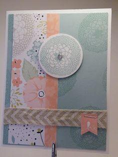 stampin up petal parade card ideas - Google Search