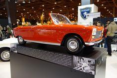 OG   1966 Peugeot 204 Cabriolet   Scale clay model dated 1964, displayed at Retromobile 2015.