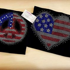 I'm so excited for the 4th of July, people are getting their orders in early. Great shirt all year round. ☄️ #4thofjuly #heart #peacesign #flag #americanflag #rhinestones #sparkles #bling #dramatic #shine #rhinestonetshirts #rhinestonetees #rhinestoned #embellishment #hustle #work #sparkle #rhinestone #amazonseller #ebayseller #etsyseller #onlineseller #motivation #entrepreneur #usa #america #american #patriotic #