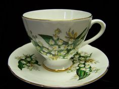 English Taylor and Kent Lily of  the Valley Cup by Cupsofthepast, $20.00