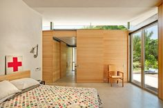 Balcones Residence Bedroom - Pollen Architecture
