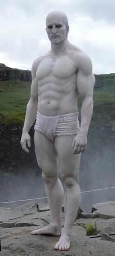 Prometheus Behind-The-Scenes Photos: The Engineer Goes for a Swim