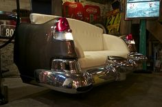 1953 Cadillac Car Couch