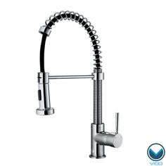 Laundry room VIGO Chrome Pull-Out Spray Swivel Kitchen Faucet