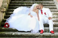 Wedding red and white ideas