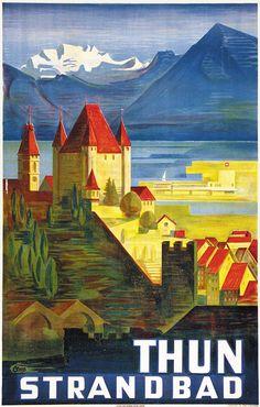 Thun Strandbad Clare Etienne