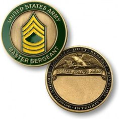 Military Rank Coins-- Army Challenge Coins for your sergeant and officers. Make Money Blogging, Make Money From Home, Make Money Online, How To Make Money, Blogging Ideas, Money Tips, Army Sergeant, Staff Sergeant, Coin Collecting Books