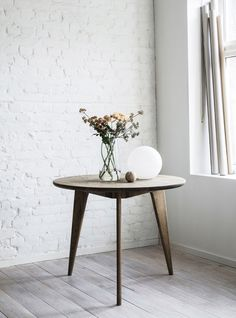 The Viken series is available as round and rectangular tables in several sizes. Dining Room Furniture, Dining Table, Tables, Home Decor, Style, Mesas, Swag, Decoration Home, Dining Sets
