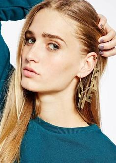 Latest alternative-fashion and contemporary ear-cuffs best for college and evenings  online via @roposolove