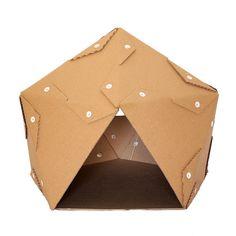 Pentagon Karton Cat House Katze-Möbel von CacaoFurniture auf Etsy