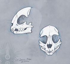 sketch___cat_skull_mask_by_bueshang-d6xf47i.jpg (800×730)