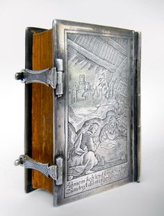 Miniature Prayerbook (1635) with silver book-cover