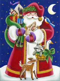CHRISTMAS SANTA CLIP ART                                                                                                                                                                                 Mais
