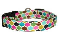 Multi Geometric Dog Collar by ALeashACollar on Etsy Handmade Dog Collars, Handmade Gifts, Personalized Items, Trending Outfits, Unique Jewelry, Dogs, Vintage, Etsy, Kid Craft Gifts