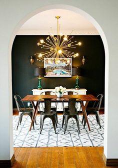 Voici la salle à manger contemporaine en 62 photos!