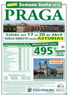 PRAGA - Semana Santa - salida 17 de Abril desde Oviedo (4d/3n) precio final 615€ ultimo minuto - http://zocotours.com/praga-semana-santa-salida-17-de-abril-desde-oviedo-4d3n-precio-final-615e-ultimo-minuto-4/