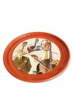 Musique & Couleur – Plateau de service - Upcycling – parution 1956 : Cuisine et service de table par leditiondhier
