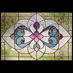 Victorian stained glass patterns   Sunlight Studio Stained Glass ...