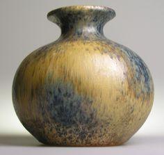 West German Pottery Modernist Vase