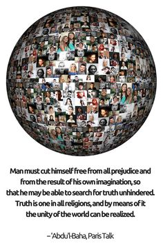 Man must cut himself free from all prejudice and from the result of...
