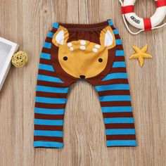 Oh My Deer Striped Leggings from kidspetite.com! Adorable & affordable baby, toddler & kids clothing. Shop from one of the best providers of children apparel at Kids Petite. FREE Worldwide Shipping to over 230+ countries ✈️ www.kidspetite.com #clothing #newborn #infant #baby #leggings #girl