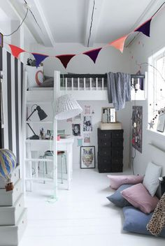 Anna - 11 Years old, see here cool and lovely room.. Photo by Mathilde Andersson