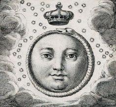 Ouroboros - Da Sacra exequialia in funere Jacobi II magnae Britanniae..., descripta a Carolo de Aquino, Societatis Jesu. 1702