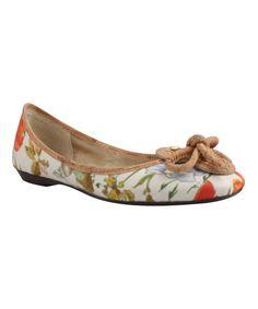 Love this Floral Edie Flat by J.Reneé  on #zulily! #zulilyfinds