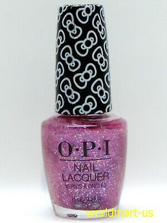 OPI Lacquer Color Nail Polish HELLO KITTY 2019 Collection /Choose Any Color | eBay Hello Kitty Nail Polish, Hello Kitty Nails, Soak Off Gel Nails, Hello Kitty Collection, Cat Nails, Opi Nail Polish, Nail Envy, Gel Color