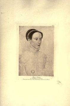 Mary Queen of Scots as a young woman