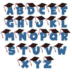 Grade Graduation Cuttable Font Cut File. Vector, Clipart, Digital Scrapbooking Download, Available in JPEG, PDF, EPS, DXF and SVG. Works with Cricut, Design Space, Sure Cuts A Lot, Make the Cut!, Inkscape, CorelDraw, Adobe Illustrator, Silhouette Cameo, Brother ScanNCut and other compatible software.