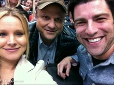 Kristen Bell's photo: LOOK WHO ELSE I FOUND! @iamgreenfield! Its a reunion!