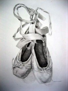 Ballet slippers tattoo in white ink::: I'm so obsessed with this it's not even funny. Possible tattoo idea for the future for sure!