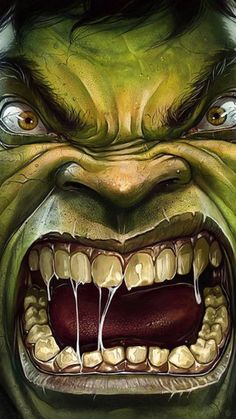 """""""Because you thought you were stronger than the Hulk? No one is stronger than the Hulk! Marvel Comics, Bd Comics, Marvel Comic Books, Comic Book Characters, Marvel Heroes, Comic Character, Comic Books Art, Marvel Avengers, Comic Art"""